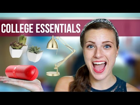 college dorm apartment essentials 16 must haves youtube