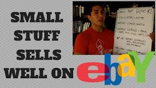 Sell On Ebay The Small Stuff And Make More Money!