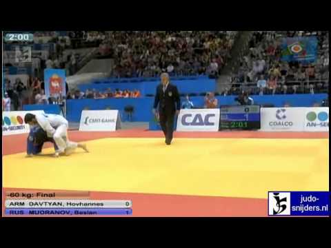 Hovhannes Davtyan (ARM) - Beslan Mudranov (RUS) [-60kg] final