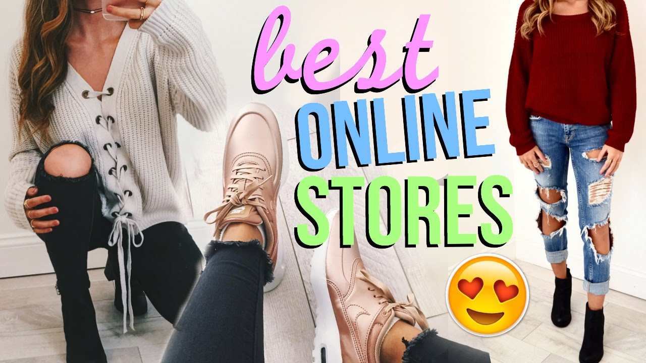 Top 5 Places to Shop Online!! (cute clothes for cheap ...