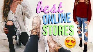 Top 5 Places to Shop Online!! (cute clothes for cheap!)