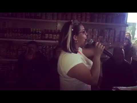 Karaoke by the food isles