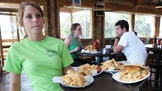 Frogmore Stew At Bowens Island In Charleston, Sc - Off The Eaten Path