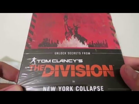 TOM CLANCY'S THE DIVISION | NEW YORK COLLAPSE BOOK