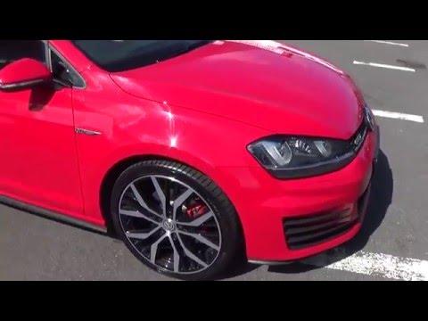 161D6757 Red Golf 2 0 GTD 184 BHP - VW SLIGO