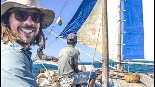 Traditional sailing in PARADISE, Nosy Be, Madagascar! Sailing Vessel Delos Ep.129