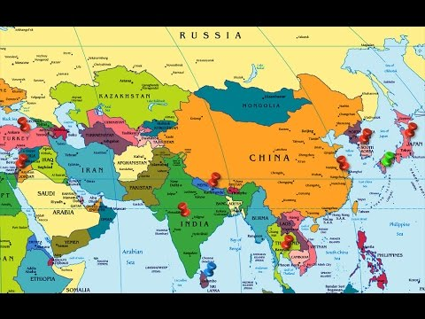 Asia the continent - YouTube