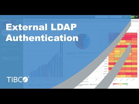 External LDAP Authentication with JasperReports Server