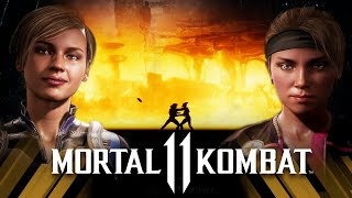 Mortal Kombat 11 - Cassie Cage Vs Sonya Blade (Very Hard)