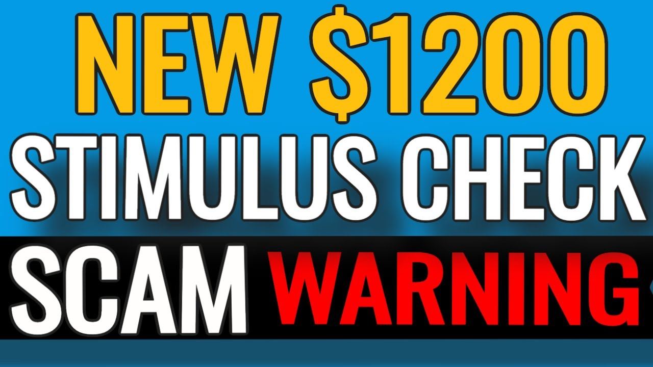 🔴 2nd Stimulus Check IRS TEXT SCAM $1200 Second Stimulus Check