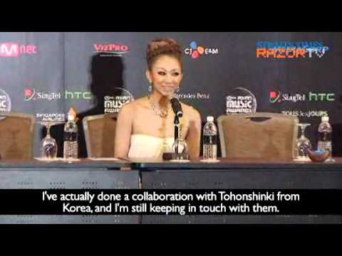 [RAZOR.TV] Press Conference - Koda Kumi (Eng)