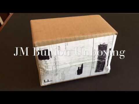 JM Bullion Reviews a JM Bullion Silver Unboxing