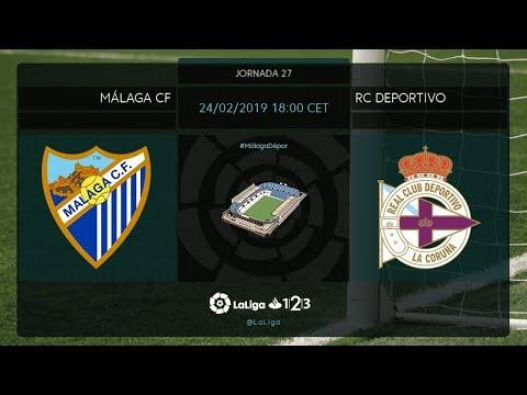 Málaga CF - RC Deportivo MD27 D1800