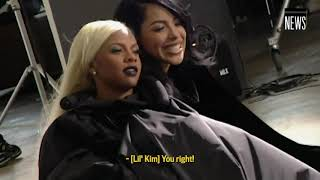 Aaliyah, Missy Elliott, Lil Kim + Da Brat ELLE Photo Shoot + Interview (1999)