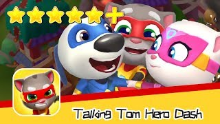 Talking Tom Hero Dash Run Game Day47 Walkthrough Super Cool Recommend index five stars+