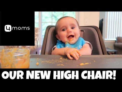 4Moms High Chair Review & Vlog | ThePlusSideOfThings