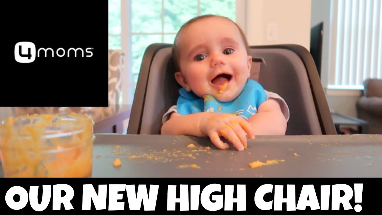 4moms High Chair Review Modern Rocking Outdoor Vlog Theplussideofthings Youtube