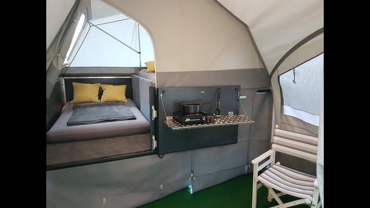 faltcaravan campinganhnger zeltanhnger autodachzelt. Black Bedroom Furniture Sets. Home Design Ideas