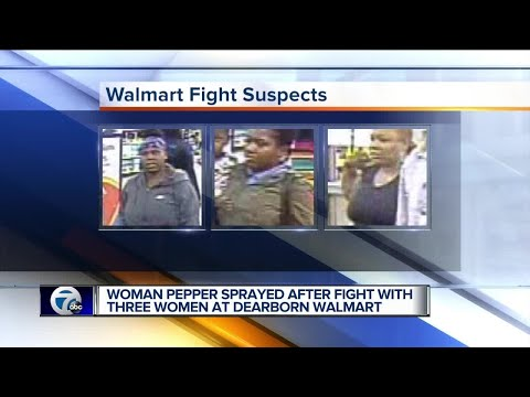 Police search for 3 women in Walmart fight that ended with pepper spray
