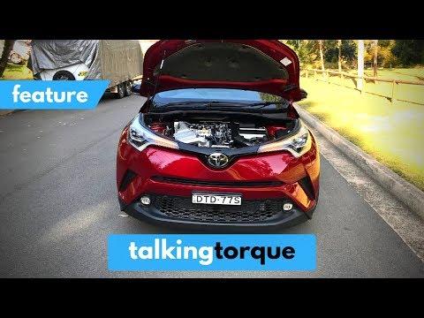 [4K] 2019 Toyota C-HR - Engine Tour