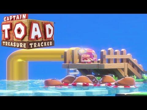 Captain Toad: Treasure Tracker Part 23 - Floaty Fun Water Park