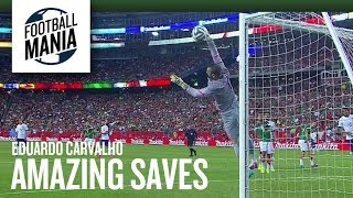 Portugal Goalkeeper Eduardo Carvalho Amazing Saves Vs. Mexico - 2014 FIFA Friendly
