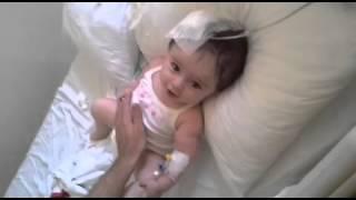 3kez beyin ameliyyatı olmuş hidrosefali hastası çocugun hayata tutunuşu