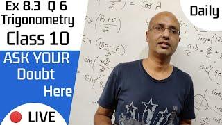 exercise 8.3 class 10 question 6 | class 10 maths chapter 8 | …