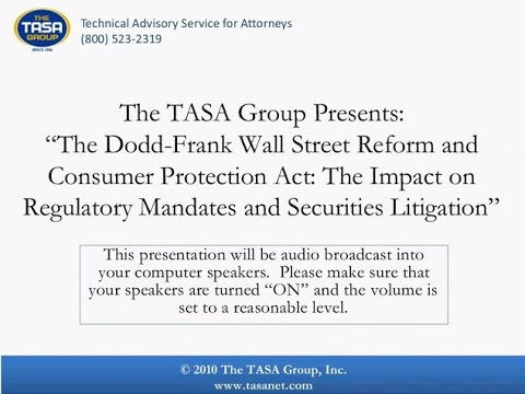 The Dodd Frank Wall Street Reform and Consumer Protection Act: The Impact on Regulatory Man