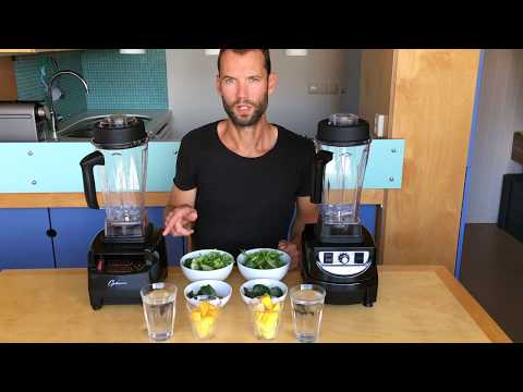 Optimum 9400 vs Optimum 9200 blender test