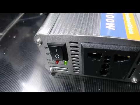 Cara Menggunakan Power Inverter Dc Ac