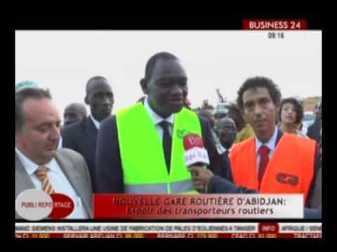 Business 24 /Public reportage - Nouvelle gare routière d'Abidjan