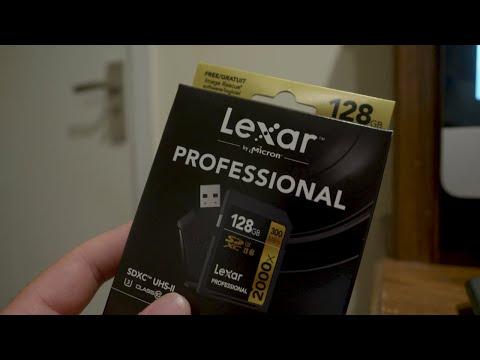 Lexar 2000x 128gb SD Card Test on the 400 mbps All-I on the GH5