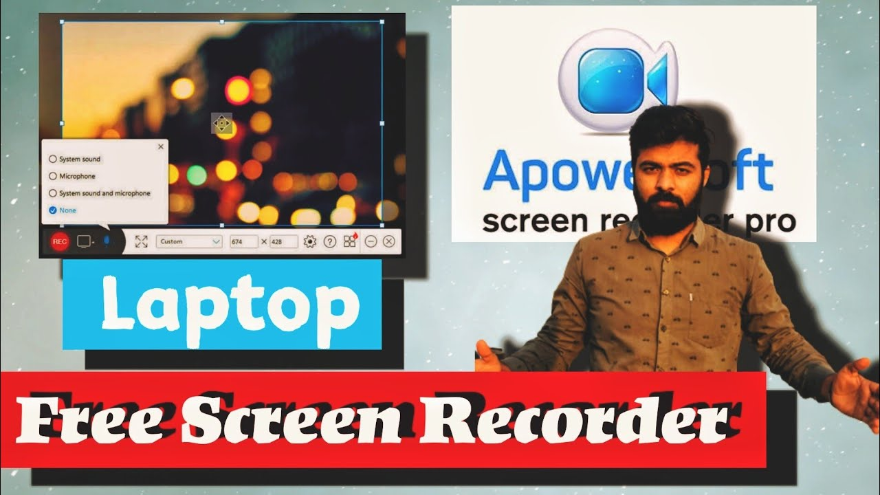 Apowersoft screen recorder pro download