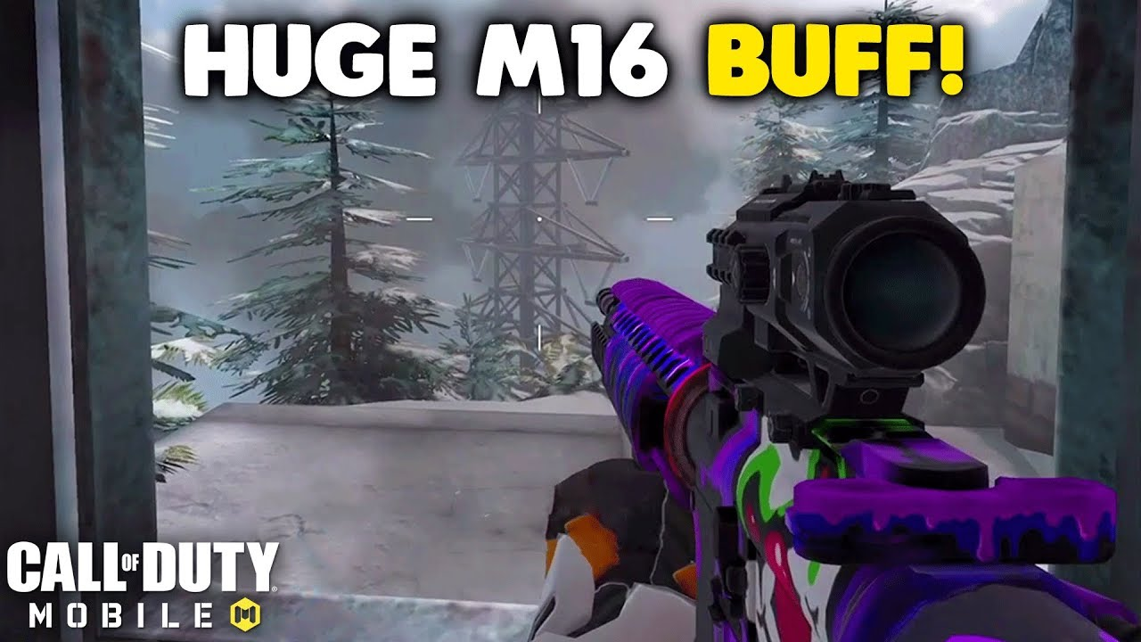 This M16 Buff Made it Overpowered in Call of Duty Mobile! thumbnail