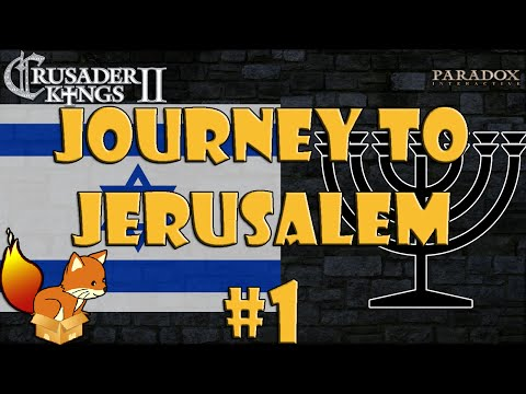 Crusader Kings 2 - The Reaper's Due - Journey to Jerusalem #1