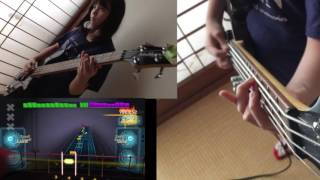 Here is Audrey (12) playing Rocksmith BASS - Refuse/Resist - Seputu...
