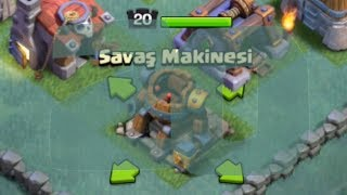SON SEVİYE SAVAŞ MAKİNESİ!! - Clash of Clans