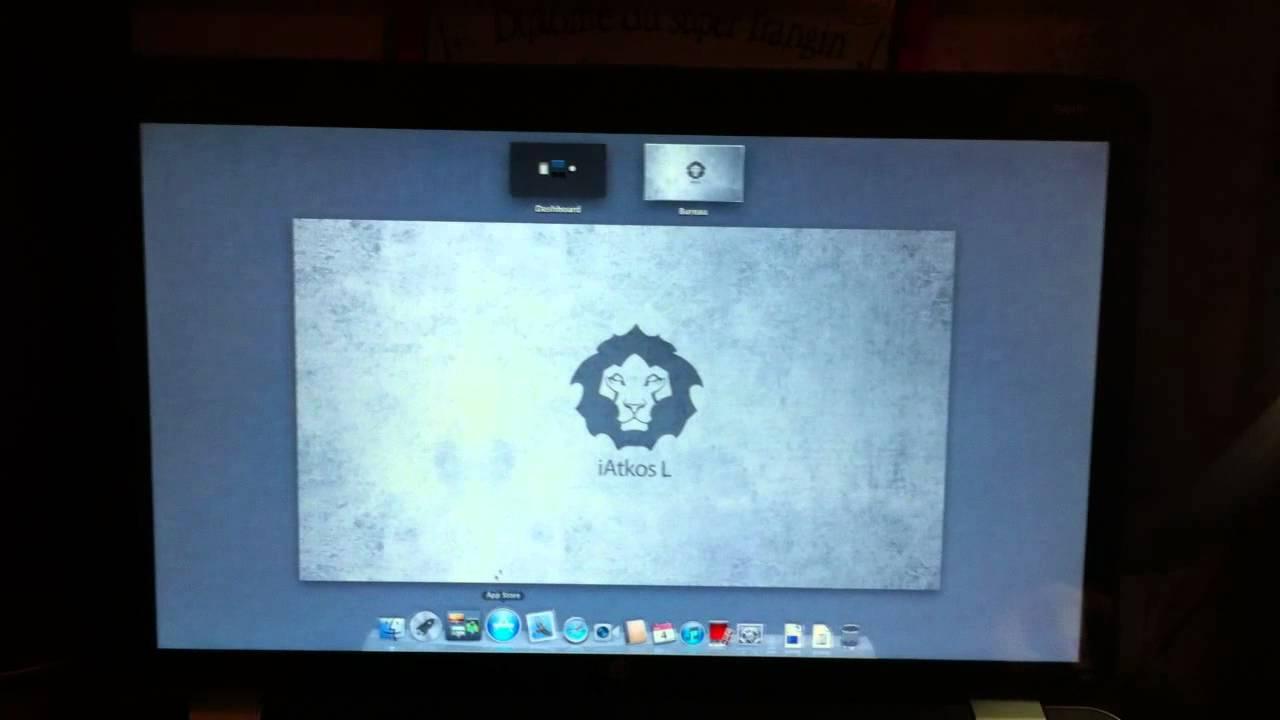 HP Envy 17 2000ef - Hackintosh iatKos L