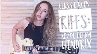 Classic Rock Riffs Medley: AC/DC, Cream, Hendrix & Link Wray w Nexi Industries