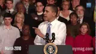 A Montage of Obama