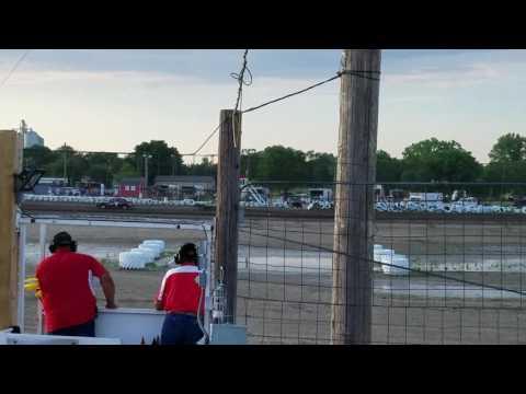 7-7-17 Wagner Speedway heat race
