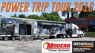Generac Power Trip Tour 2016 | Modern Power Systems