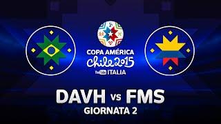 #YTCopaAmerica - BRASILE - COLOMBIA