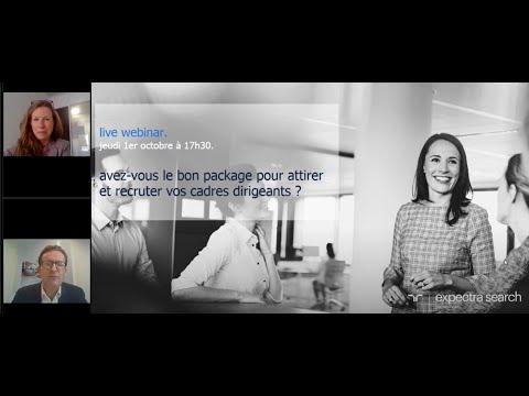 [Replay live webinaire] Avez-vous la bonne politique pour recruter vos cadres dirigeants ?