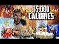 """CHEATSGIVING"" | 35,000+ CALORIE CHEAT DAY"