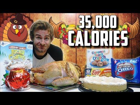 CHEATSGIVING | 35,000+ CALORIE CHEAT DAY