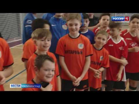 В Калининграде прошёл международный турнир по мини-футболу среди детей