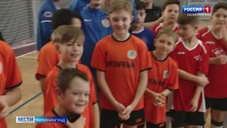 В Калининграде прошёл международный турнир по мини футболу среди детей