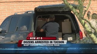 16 arrested in multiagency operation targeting Tucson-based heroin trafficking ring